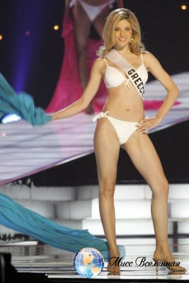 Evangelia Aravani  Miss Greece 2005