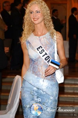 Katrin Susi  Miss Estonia 2003