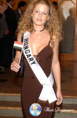 Victoria Tomozi  Miss Hungary 2003