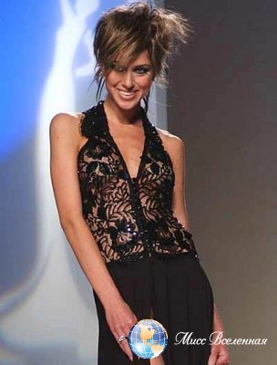 Lene Paparrigopoulou  Miss Greece 2002