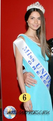 Iliana Papageorgiou  Miss Greece 2011