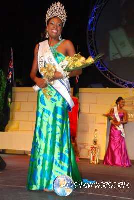 Abigail Hyndman  Miss British Virgin Islands 2012