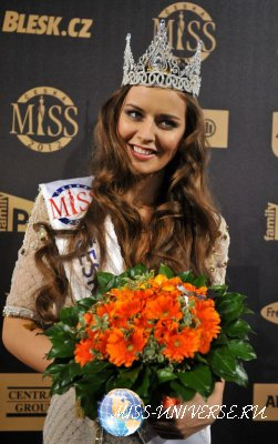 Tereza Chlebovska  Miss Czech Republic 2012